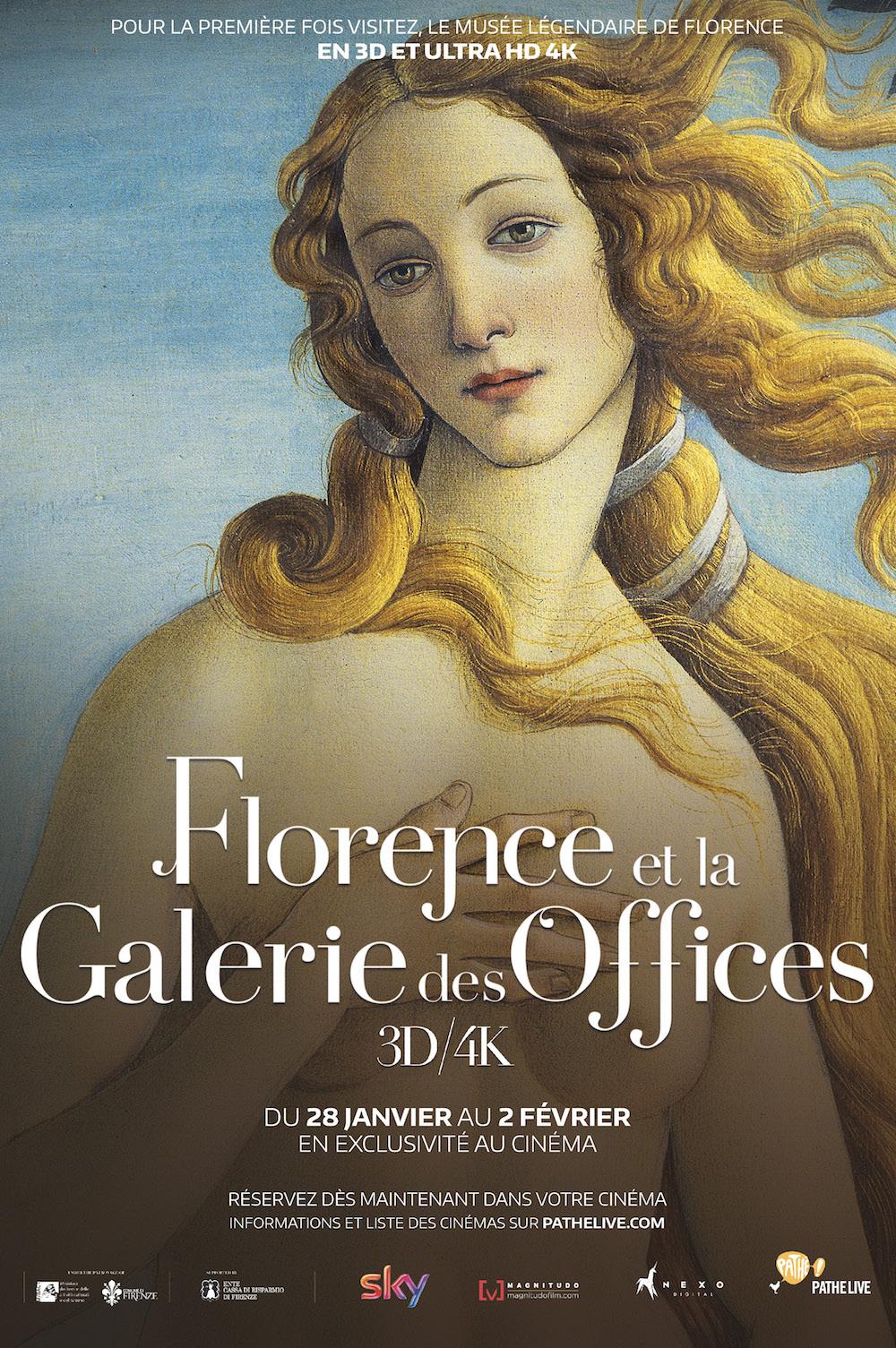 Florence et la Galerie des Offices 3D - Affic