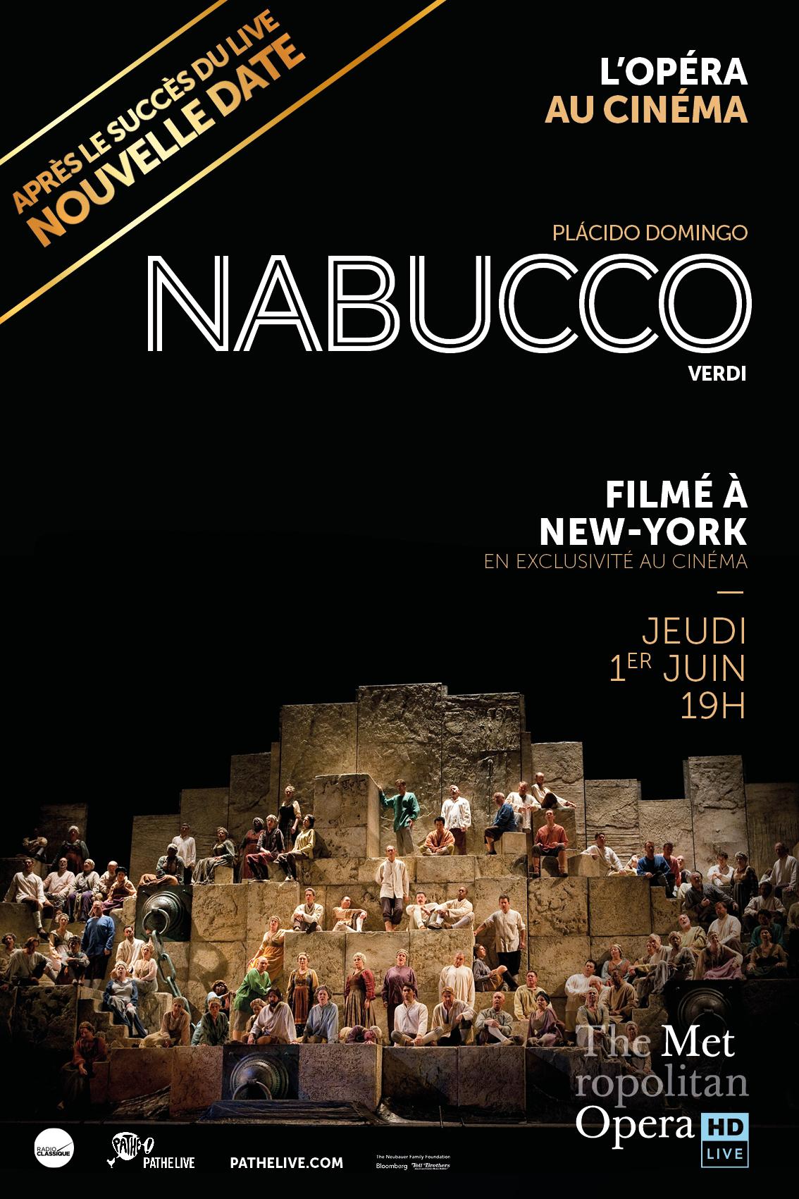 Affiche Nabucco