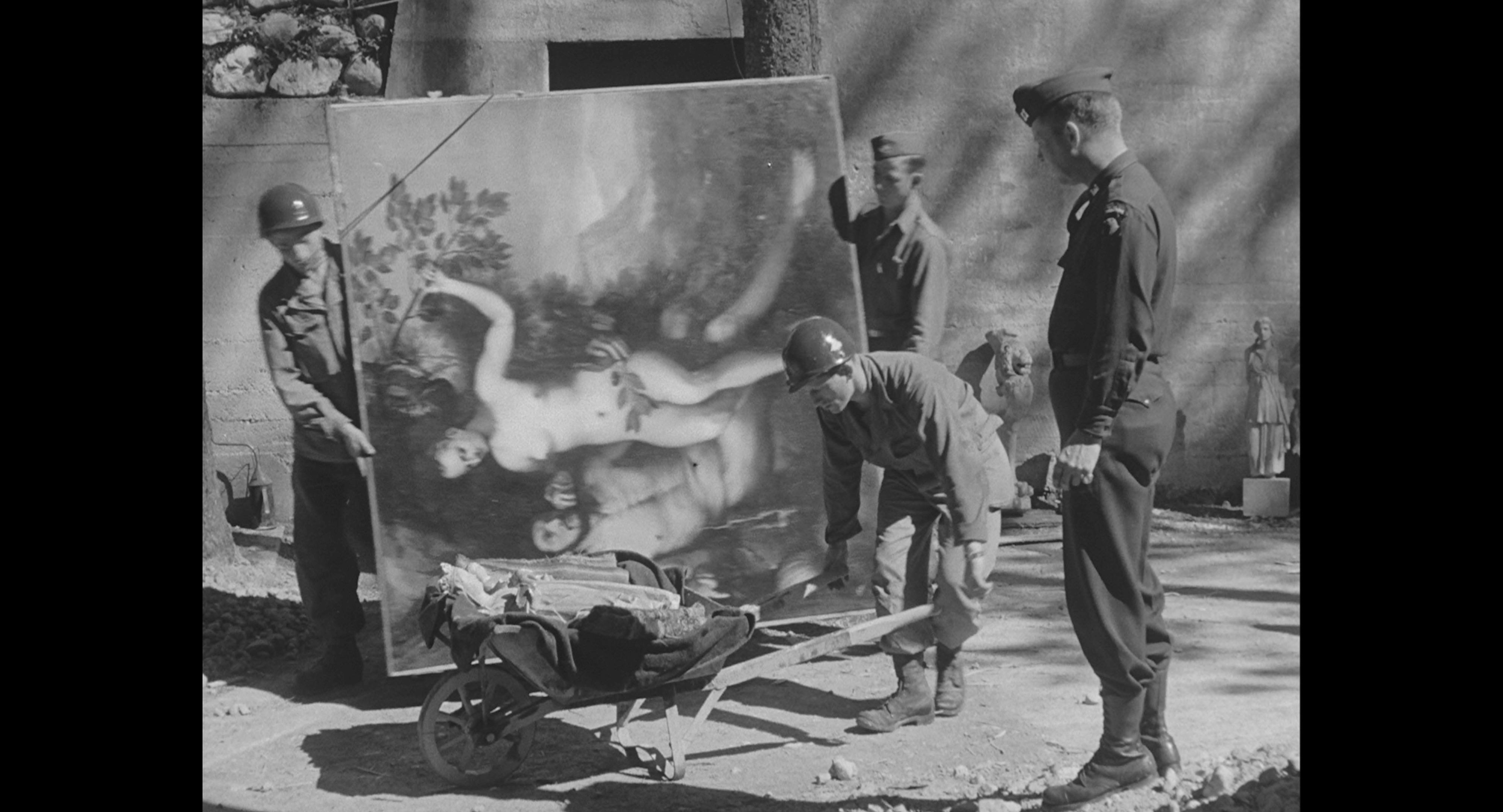 La collection de Goering à la libération